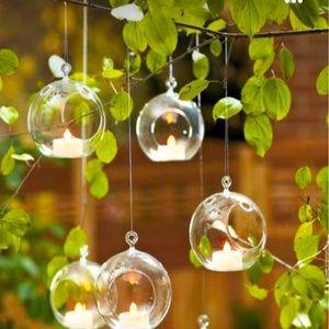 CB2 Hanging Glass Orbs - Still in Box #2!